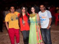 Ahmed Khan, Shaira Khan, Sunny Leone, Bobby Khan
