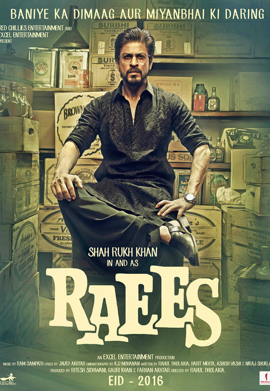Raees Cover