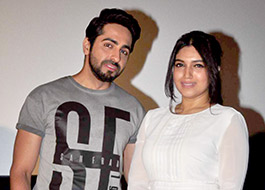 Ayushmann Khurrana and Bhumi Pednekar in Aanand L. Rai's next production