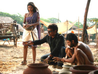 On The Sets Of The Film Shudra The Rising Featuring Sanjeev Jaiswal