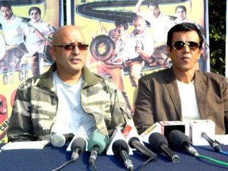 Photo Of Hriday Shetty,Kay Kay Menon From The Press conference of 'Chaalis Chauraasi' in Indore