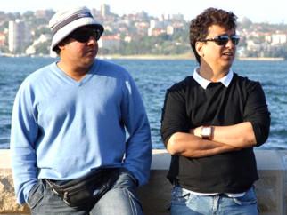 On The Sets Of The Film Heyy Babyy Featuring Sajid Khan,Sajid Nadiadwala