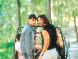 Movie Still From The Film Kaal Featuring Vivek Oberoi,John Abraham