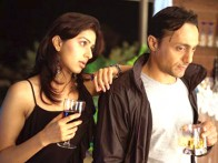 Movie Still From The Film Silsiilay,Bhumika Chawla,Rahul Bose
