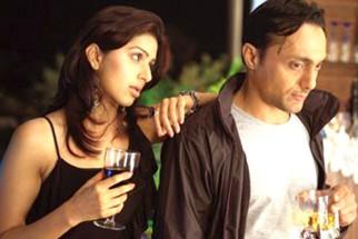 Movie Still From The Film Silsiilay,Bhumika Chawla,Rahul Bose