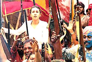 Movie Still From The Film Shakti - The Power Featuring Karisma Kapoor