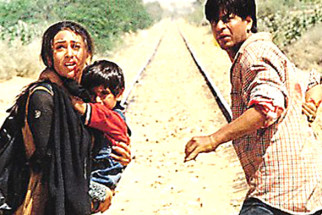 Movie Still From The Film Shakti - The Power Featuring Shahrukh Khan,Karisma Kapoor