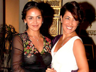 On The Sets Of The Film Tell Me O Kkhuda Featuring Esha Deol