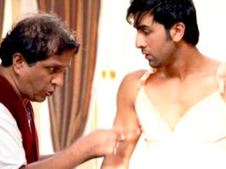 Movie Still From The Film Ajab Prem Ki Ghazab Kahani,Darshan Jariwala,Ranbir Kapoor