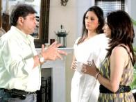 On The Sets Of The Film Banda Yeh Bindaas Hai Featuring Ravi Chopra,Tabu