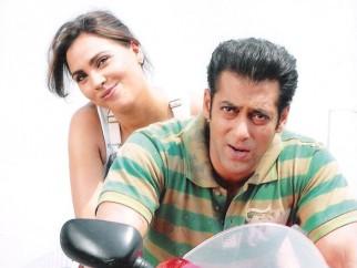 Movie Still From The Film Partner Featuring Salman Khan,Lara Dutta
