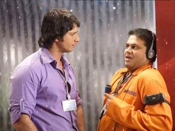 Movie Still From The Film Hello,Sharman Joshi,Suresh Menon