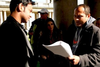 On The Sets Of The Film London Dreams Featuring Ajay Devgn