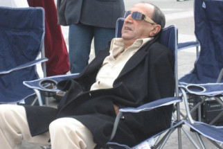 On The Sets Of The Film Salaam-E-Ishq Featuring Tinu Anand