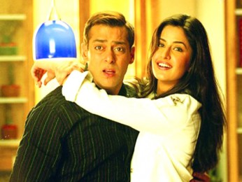 Movie Still From The Film Maine Pyaar Kyun Kiya Featuring Salman Khan,Katrina Kaif