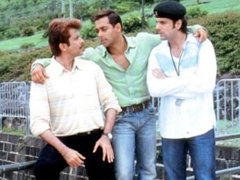 Movie Still From The Film No Entry FeaturingAnil Kapoor,Salman Khan,Fardeen Khan