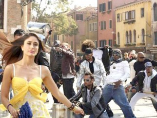On The Sets Of The Film Kambakkht Ishq Featuring Kareena Kapoor