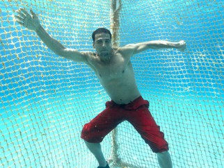 Movie Still From The Film Blue,Akshay Kumar