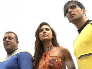 Movie Still From The Film Blue,Sanjay Dutt,Lara Dutta,Zayed Khan