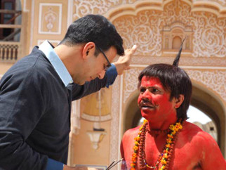 Movie Still From The Film Bhool Bhulaiyaa,Akshay Kumar,Rajpal Yadav