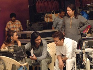 On The Sets Of The Film Jaan-E-Mann Featuring Preity Zinta