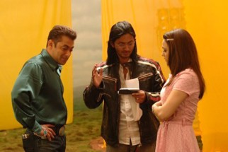 On The Sets Of The Film Jaan-E-Mann Featuring Salman Khan,Preity Zinta