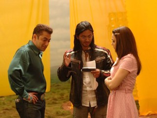 On The Sets Of The Film Jaan-E-Mann Featuring Salman Khan,Preity Zinta