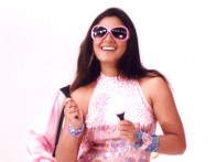 On The Sets Still From The Film Phir Hera Pheri Featuring Rimi Sen