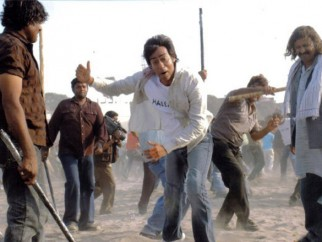 Movie Still From The Film Halla Bol,Ajay Devgn