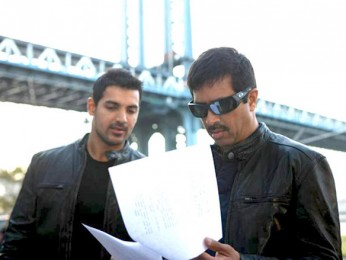 On The Sets Of The Film New York Featuring John Abraham