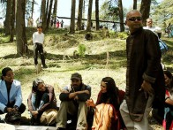 On The Sets Of The Film The Last Lear Featuring Arjun Rampal,Preity Zinta