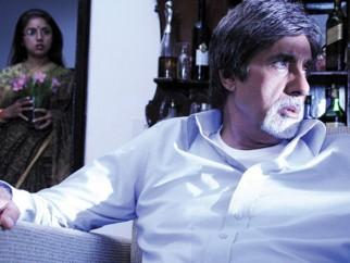 Movie Still From The Film Nishabd Featuring Amitabh Bachchan