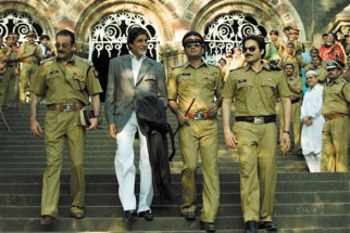 Movie Still From The Film Shoot Out At Lokhandwala Featuring Sanjay Dutt,Amitabh Bachchan