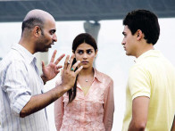 On The Sets Of The Film Jaane Tu Ya Jaane Na Featuring Genelia Dsouza,Imran Khan