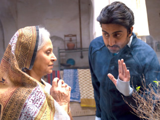Movie Still From The Film Delhi-6,Waheeda Rehman,Abhishek Bachchan
