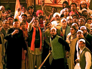 Movie Still From The Film Delhi-6,Prem Chopra,Om Puri,Vijay Raaz