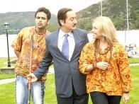 Movie Still From The Film Mr. Bhatti on Chutti,Anupam Kher