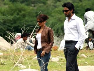 Movie Still From The Film Sarkar Raj,Aishwarya Rai,Abhishek Bachchan
