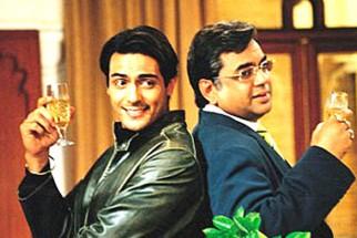 Movie Still From The Film Dil Ka Rishta Featuring Arjun Rampal,Paresh Rawal