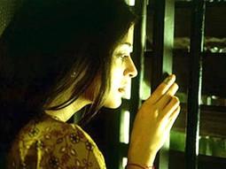 Movie Still From The Film Raincoat Featuring Aishwarya Rai