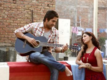 Movie Still From The Film Vicky Donor,Ayushman Khurana,Yami Gautam
