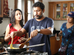 On The Sets Of The Film Vicky Donor,Yami Gautam,Shoojit Sircar