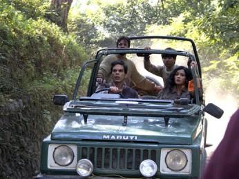 Movie Still From The Film The Forest,Jaaved Jaaferi,Ankur Vikal,Nandana Sen