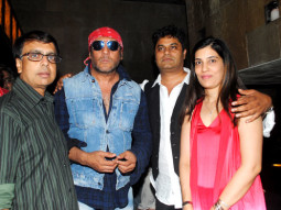 Photo Of Anant Mahadevan,Jackie Shroff,Sachin Khanolkar,Bindiya Khanolkar From The Wrap up & first look launch party of 'Gour Hari Dastaan'