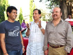 On The Sets Of The Film Baniye Ki Moonchh Featuring K K,Sawan Kumar Tak,Rajesh Roshan