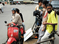 On The Sets Of The Film Fatso,Ranvir Shorey