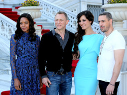 Photo Of Naomie Harris,Daniel Craig,Berenice Marlohe,Ralph Fiennes From The Skyfall's cast and crew arrive on location in Istanbul