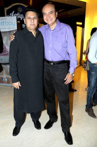Photo Of Ketan Desai,Jyotin Goel From The First look launch of 'Tukkaa Fitt'