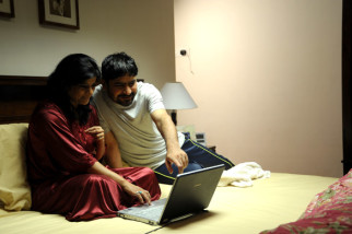 Movie Still From The Film Yeh Khula Aasmaan,Yashpal Sharma