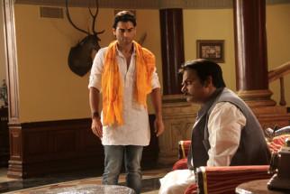 Movie Still From The Film Chakradhaar,Abhishek Anand,Akhilendra Mishra